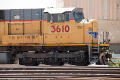 UP 3610 SD9043AC Front